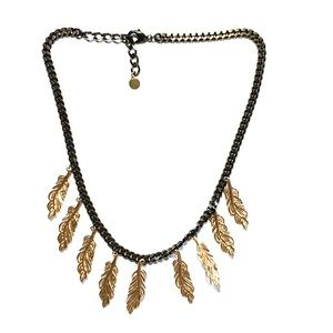 Stella and Dot Feathered Necklace